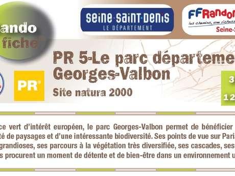 PR5 : LE PARC DEPARTEMENTAL GEORGES VALBON