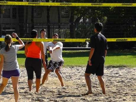 Initiation beach Volley
