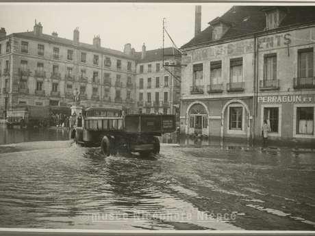 Chalon et ses inondations entre 1929 et 1955 (photos d'époque)
