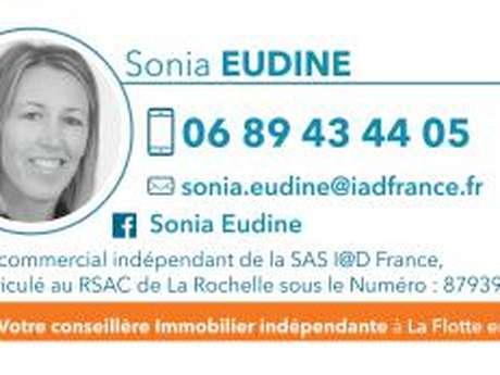 SONIA EUDINE - IAD immobilier