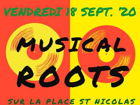Musical Roots sur la Place St Nicolas !