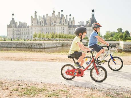 Chambord à vélo - petit parcours