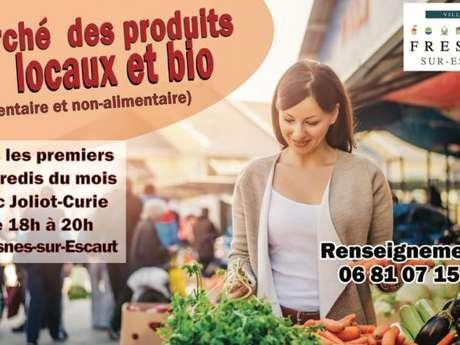 Marché des produits locaux et bio