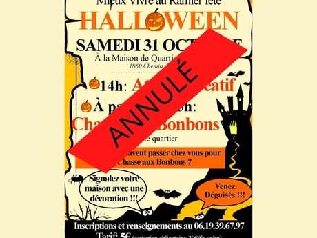 Anulado / Mieux Vivre au Ramier celebra Halloween