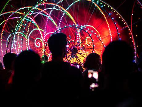 Nuit de la danse - Color wheels