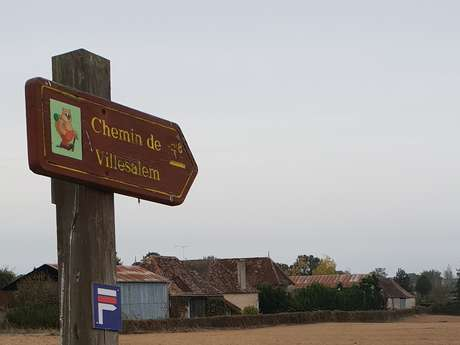 Les Chemins de Villesalem / Boucle 10