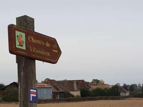 Les Chemins de Villesalem / Boucle 3