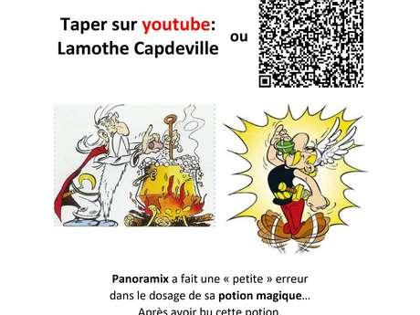 Jeu de piste pour découvrir l'histoire de Lamothe Capdeville