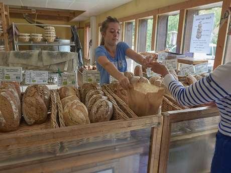 L'atelier de boulangerie de Restalgon