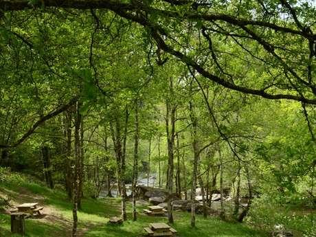 Sentier de découverte des gorges du Thaurion