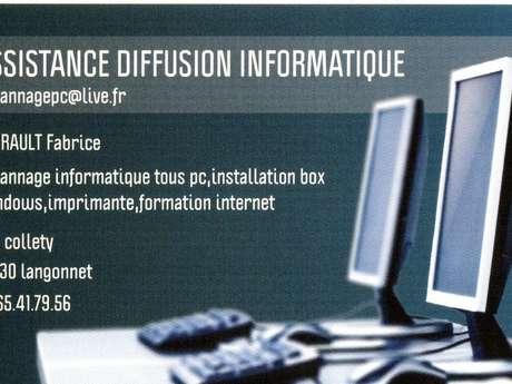 Assistance diffusion informatique