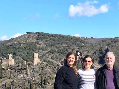 Excursion en minibus partagé - 1/2 Journée - Les quatre châteaux de Lastours - Fr/GB - Sun Tour