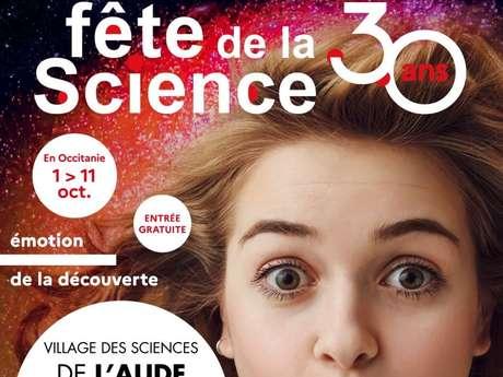 FETE DE LA SCIENCE - 30 ANS