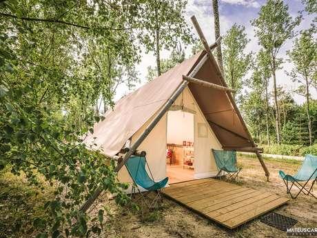 Camping nature L'heureux hasard