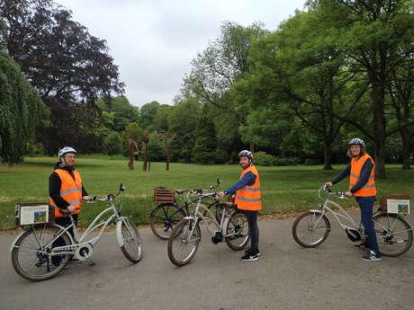 Echappée à vélo électrique - Douai de parcs en jardins
