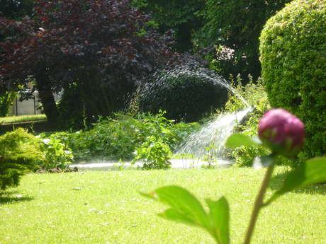 Die öffentlichen Gartenanlagen von Auffay