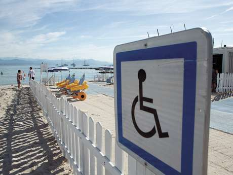 Beach for disabled