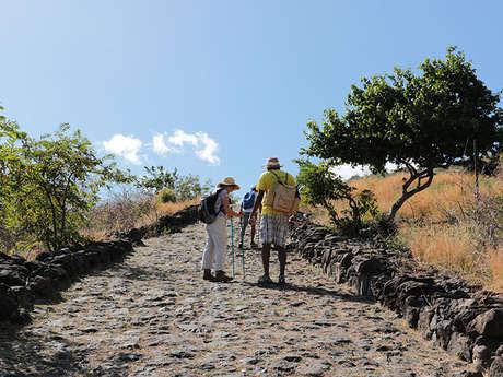 "Zarlor guided hike along the ""Sentier Pavé""Cobblestone Path - Historic Saint-Paul"