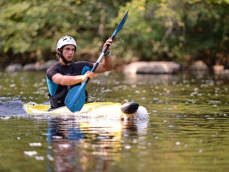 Kayak au CPA Lathus
