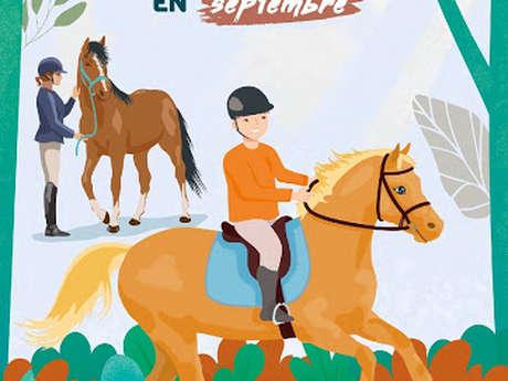 Tous à cheval en septembre à l'école d'équitation de Saultain