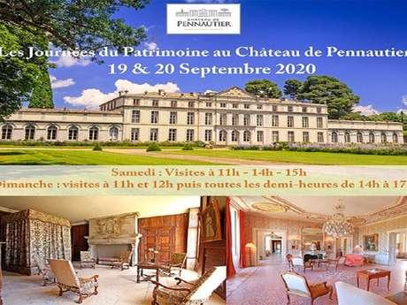 LES JOURNEES DU PATRIMOINE AU CHATEAU DE PENNAUTIER