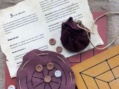 Arkéos - Les ateliers des vacances : Alea jacta est* (les dés sont jetés) Jeune public