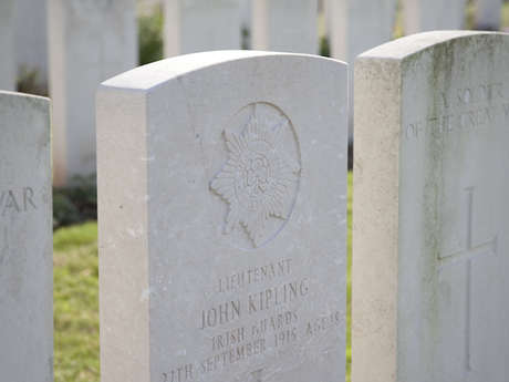 La tombe de John Kipling