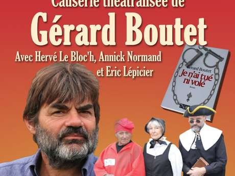 Les 5 vies du Curé de Nids - Causerie théâtralisée de Gérard Boutet