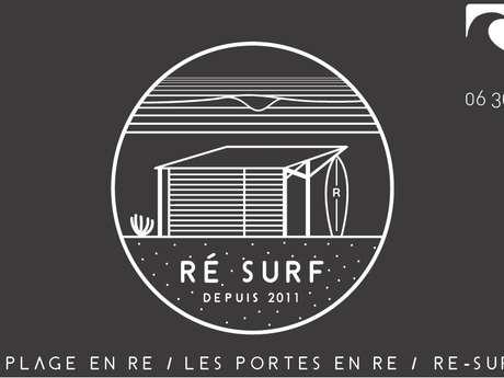 COURS ET STAGES DE SURF PAR RÉ SURF