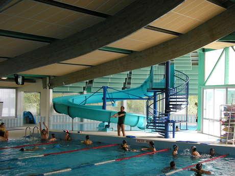The swimming pool in Montmorillon