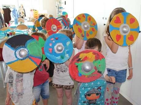 Arkéos - Les ateliers des vacances : Bouclier Médieval