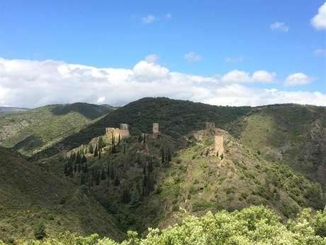 Excursion partagée en minibus - Journée - Cité Médiévale de Carcassonne et Château de Lastours - F/GB