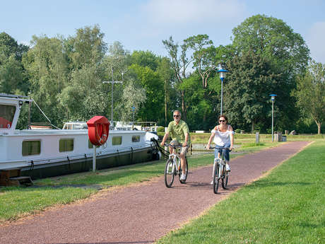 """Le réseau points-noeuds vélo """"Vallée de la Lys & Monts de Flandre"""""""