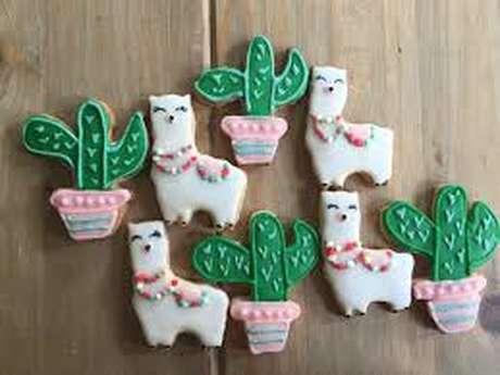 Atelier biscuits décorés avec Nat's cookies