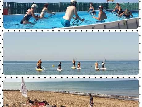 Club de plage LES DAUPHINS : Sports, Remise en forme, Bien-être. La Couarde