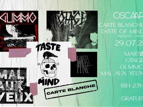 Carte Blanche au Collectif Taste Of Mind