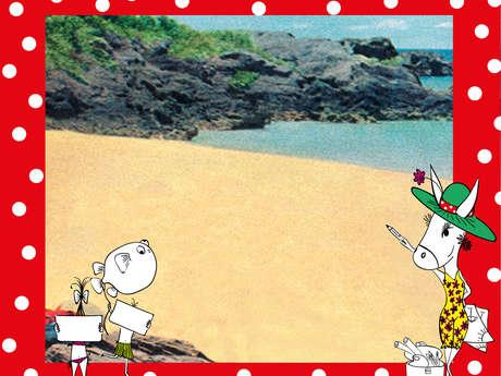COURS DE DESSIN MAGIQUE et AQUARELLE à la plage par la Talentueuse Ile de Ré