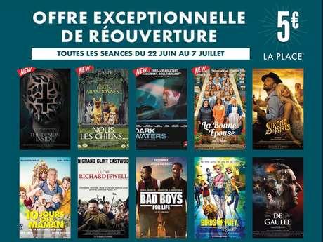 Programmation du cinéma CGR Multiplex
