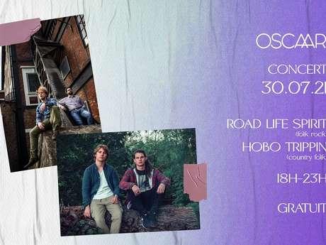 Road Life Spirit + Hobo Trippin chez Oscaar