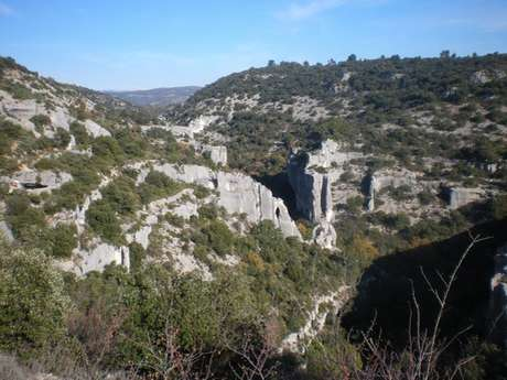 Amonts des gorges de la Véroncle