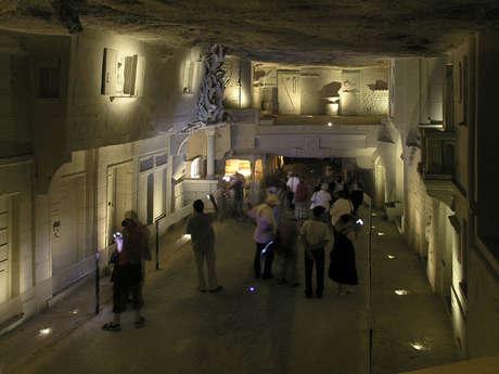 Cave des Roches Champignonnière, ville souterraine