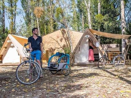 Camping Sites et Paysages les Saules