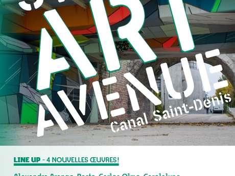 STREET ART AVENUE, SAINT-DENIS et AUBERVILLIERS
