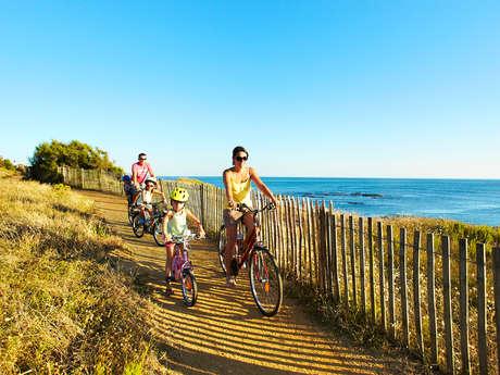 Balades à vélo dans Brétignolles-sur-Mer