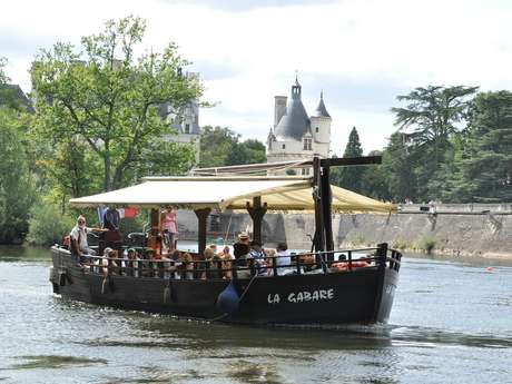 "Touristic boat trips ""Chenonceaux"""
