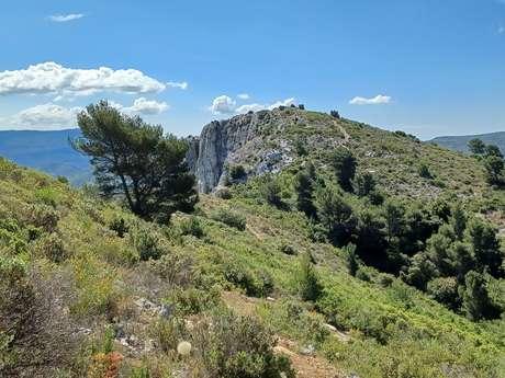 Les bosses du Mont Julien