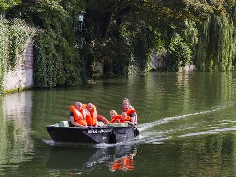 Bateaux promenades du Vieux-Douai