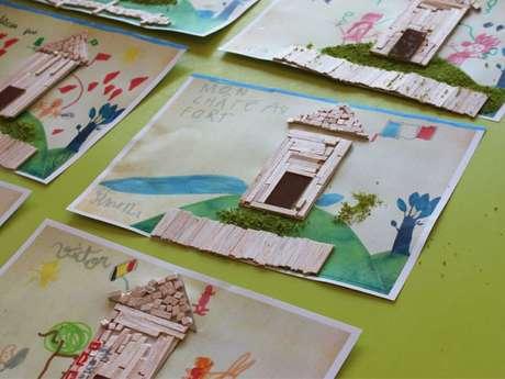 Arkéos - Les ateliers des vacances : Mon beau château !