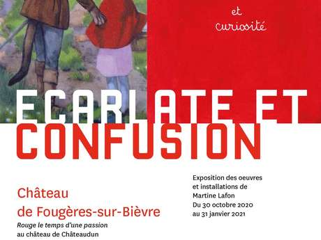 Ecarlate et confusion au château de Fougères-sur-Bièvre