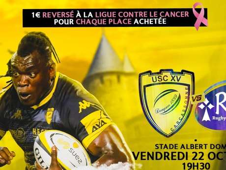 RUGBY A XV – USC XV / RC VANNES